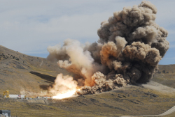 The September 10 Ares booster test. Source: Alliant Techsystems