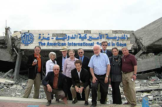 "National Interest Foundation's 19th ""Political Pilgrimage"" group"