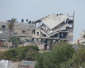 Destruction from Israeli Operation Cast Lead, Gaza