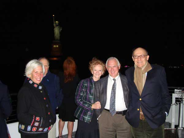 On the cruise, 70th Birthday Party, New York City