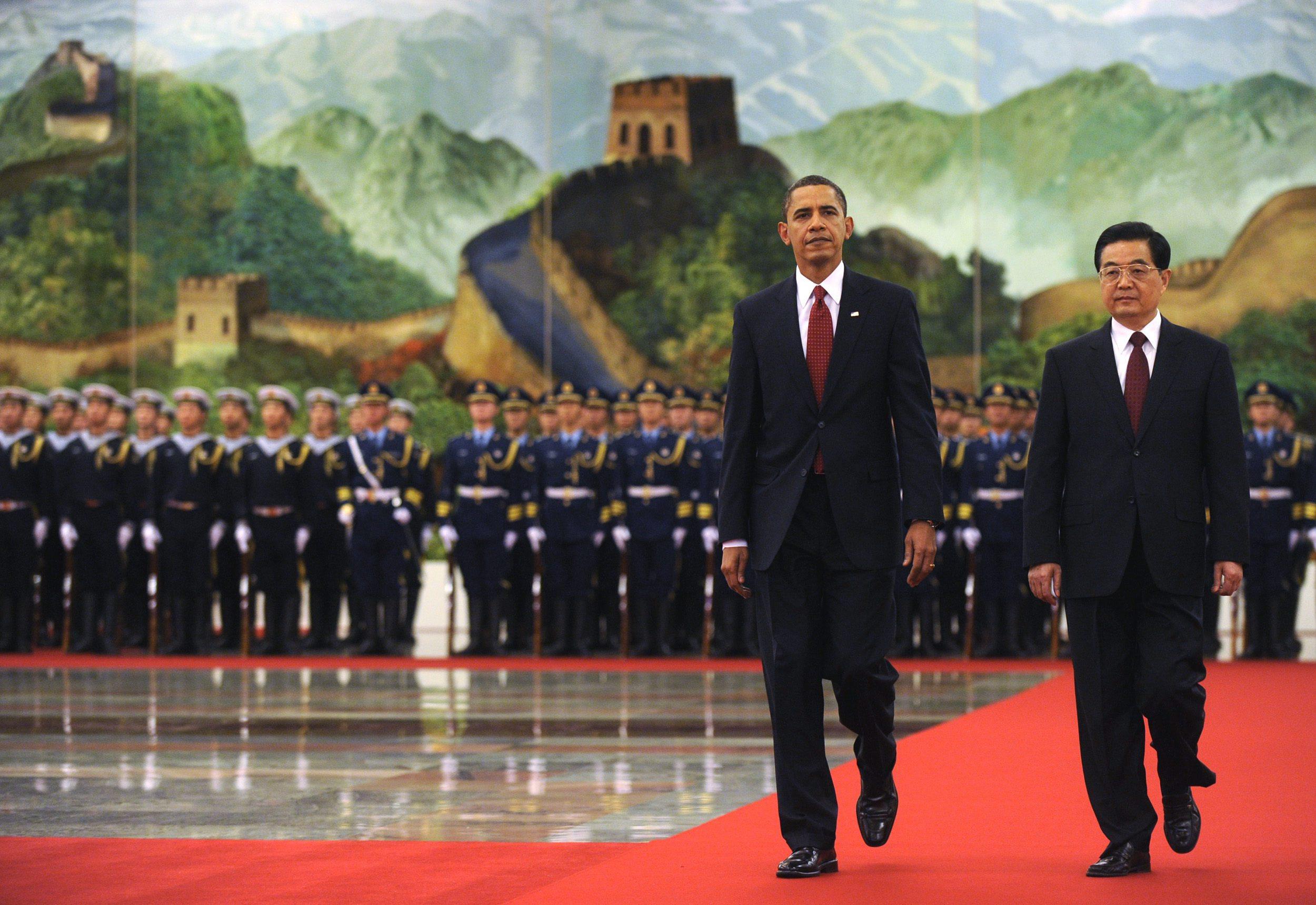 President Obama in China