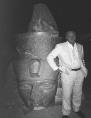 Could a plague change our history? John Marr in Egypt c. 1998 to film a documentary on the ten Biblical plagues.